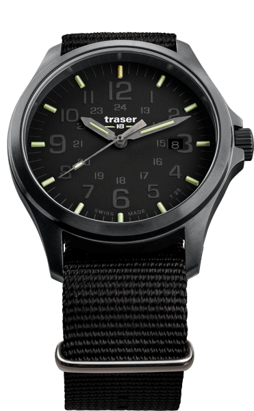 Traser P67 Officer Pro Black - NATO Strap